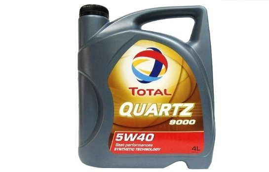 TOTAL Quartz 9000 5W40 4 л