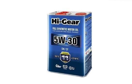 Hi-Gear 5W-30 SM/CF 4 л