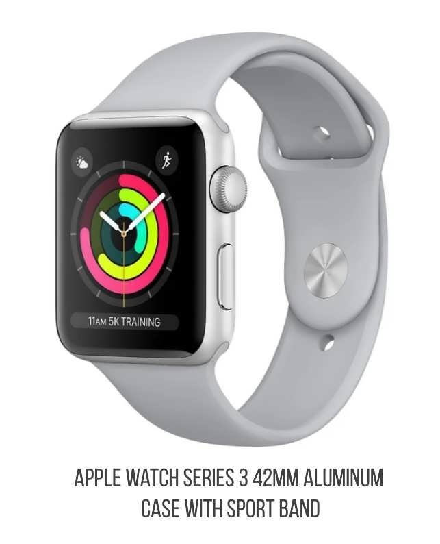 Apple Watch Series 3 42mm Aluminum Case with Sport Band 6c3ab766f4f