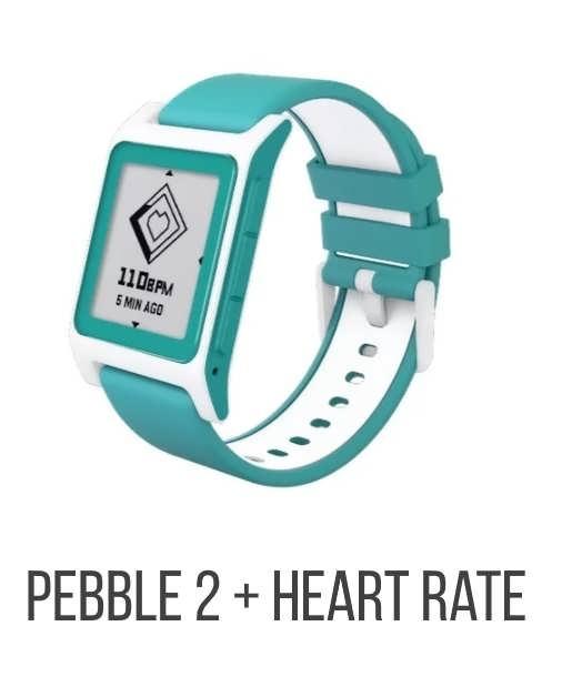 Pebble 2 + Heart Rate