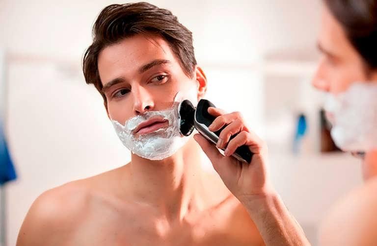 Для влажного бритья