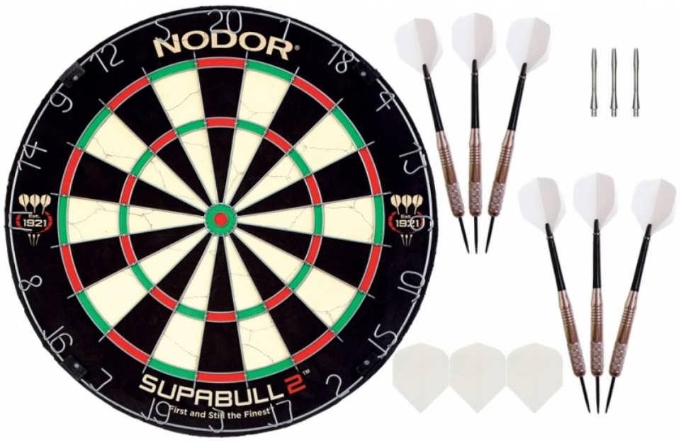 Комплект для игры в Дартс Nodor Home