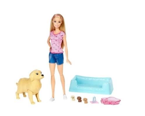 Кукла Barbie и собака
