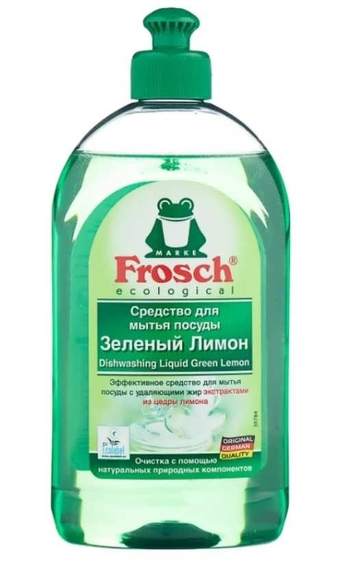 Frosch Средство для мытья посуды Зелёный лимон