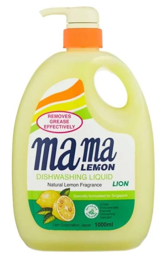 Mama Lemon Жидкость для мытья посуды Lemon
