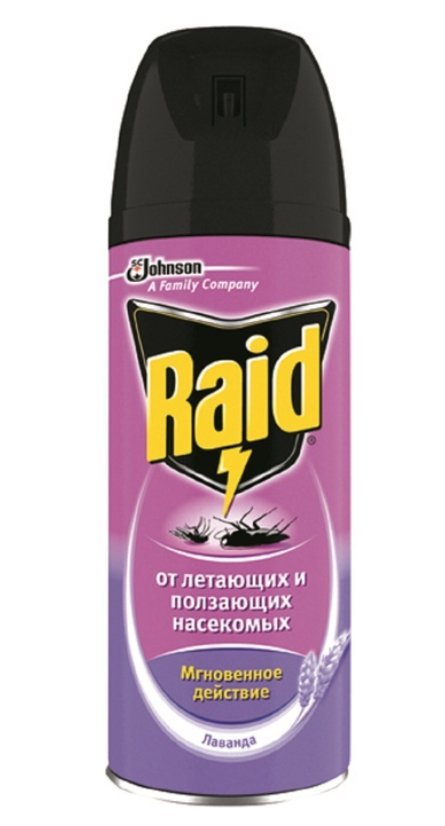 Аэрозоль Raid