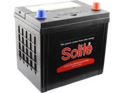 Solite 65 А.ч 75D23L