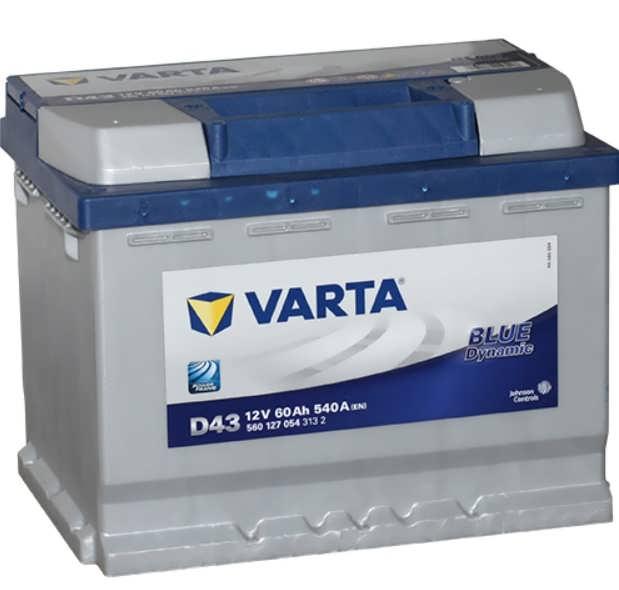 VARTA Blue D47 (60R) 540А