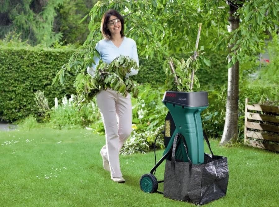 Лучшие садовые измельчители