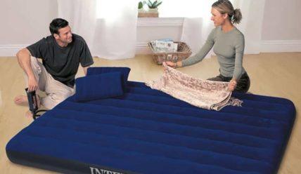Рейтинг надувных матрасов для сна: топ 7 моделей 2019 года
