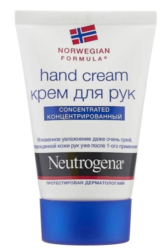 Neutrogena Norwegian formula с запахом