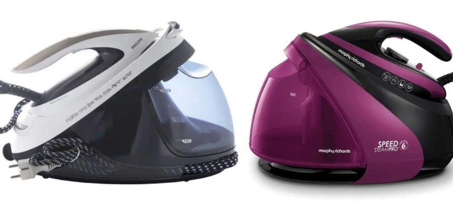 Утюг с парогенератором Morphy Richards S-Pro Purple 332102 vs парогенератор Philips PerfectCare Elite GC9635