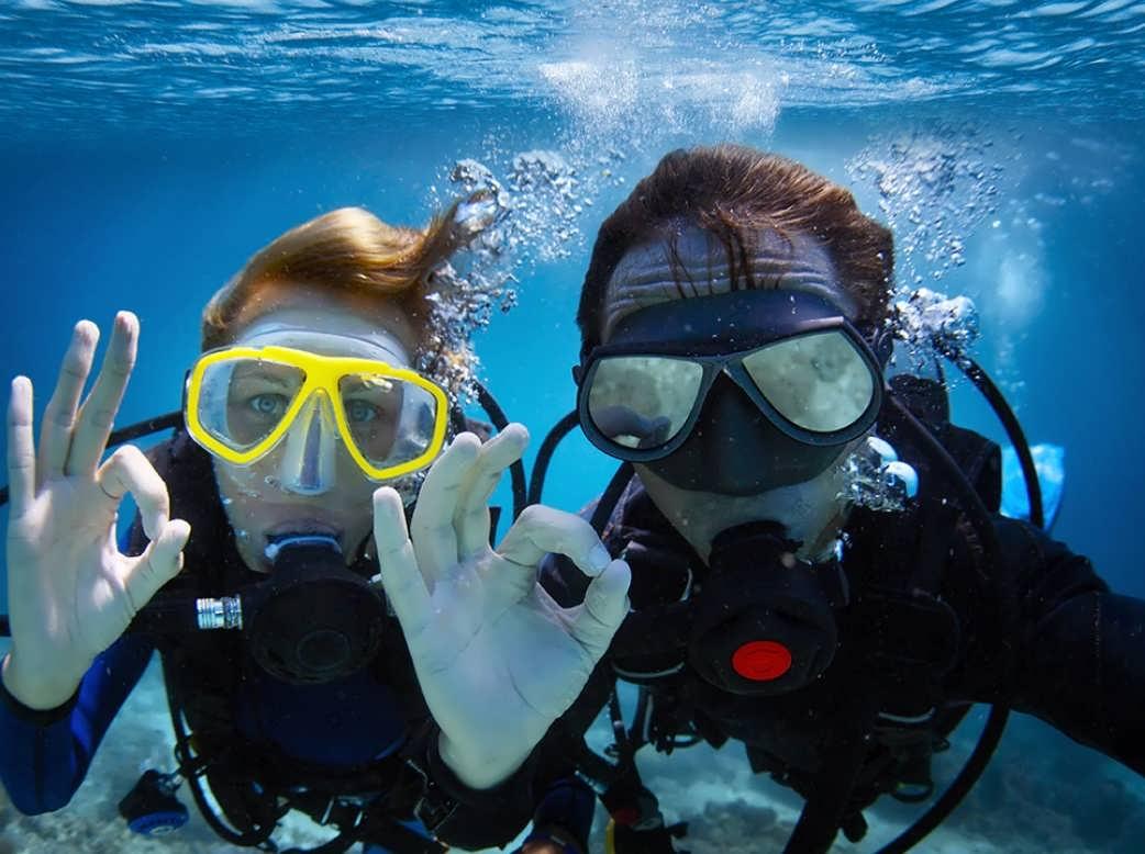 Съемка под водой